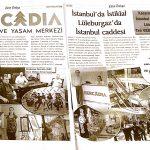 BERCADİA AVM-gazete